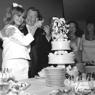 Charo, age 20, Weds Xavier Cugat, age 60, in Las Vegas at Caesars Palace