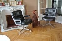 Fauteuils Eames Lobby Chair Herman Miller - L'Atelier 50 ...