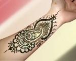 Arabic Eid Mehndi designs 2012