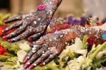 Latest Amazing Stone Studded Mehndi Designs