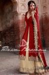 bridal wedding dress by Rizwan Moazzam