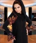 A-line khaleeji abaya 2012 - Kaftan Jilbab Trends