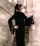 ribbon embroidered abaya designs
