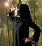 simple arabic abaya style 2012