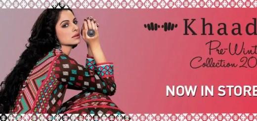 Khaadi pre winter dresses 2012