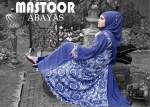 Winter abaya designs by mastoor