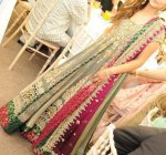 Pakistani walima dress in maxi style