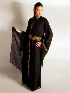 Arab khaleeji abaya design 2013