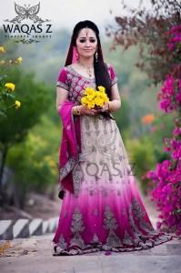 Pakistani walima dresses for brides