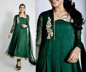 Green chiffon dresses 2013