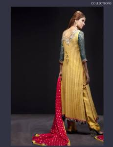 pakistani long shirt design 2013