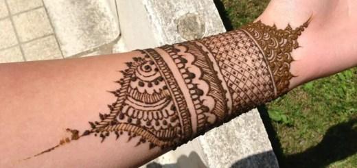 Henna mehndi designs for wrists