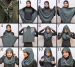 latest styles of wearing hijab