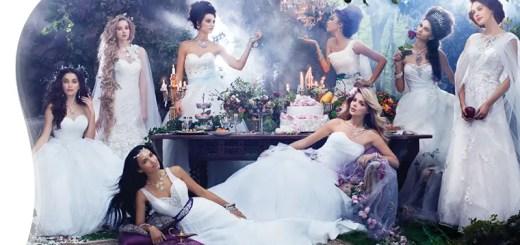 Disney fairy tale wedding dresses by Alfred Angelo
