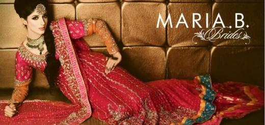 Beautiful wedding dresses by maria b 2014