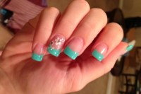 15 Trendy Turquoise Nail Designs - LatestFashionTips.com