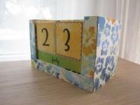 Handmade Perpetual Calendar - Latest Handmade
