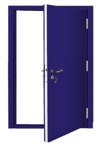 Custom Made Single Steel Doors | Latham's Steel Doors