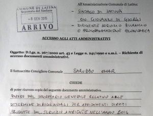 accesso-atti-comune-latina