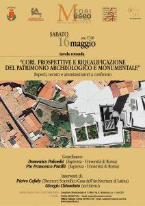 CONFERENZA MUSEO 16 MAGGIO - LOCANDINA