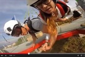 VIDEO Flying in the sky, emozioni (e paura) a Rocca Massima