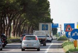 Un altro incidente sulla Pontina, code in direzione di Roma