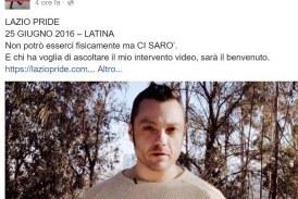 Tiziano Ferro testimonial del Gay Pride a Latina. I promotori: Aspettiamo anche Damiano Coletta