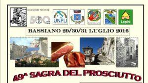 bassiano -sagra del prosciutto-luglio-2016