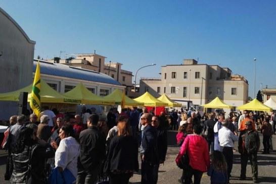 Pontinia, inaugurato il nuovo mercato di Campagna Amica della Coldiretti