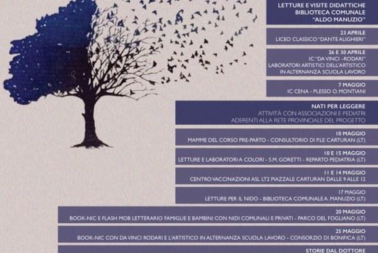 Maggio dei libri, tutte le iniziative a Latina