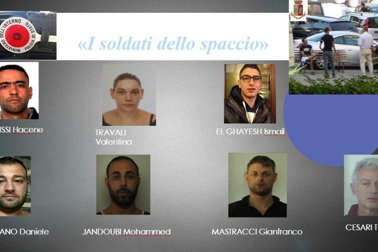 Alba Pontina arresti mafia Latina Di Silvio slide polizia