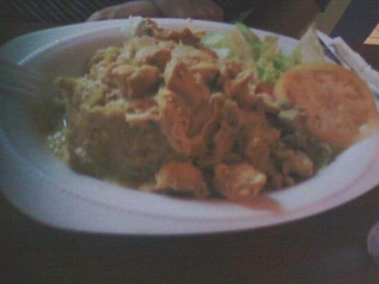 chicken mofongo Puerto Rican food