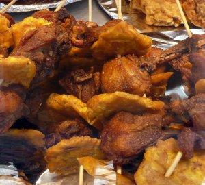 Pinchos Puerto Rican food