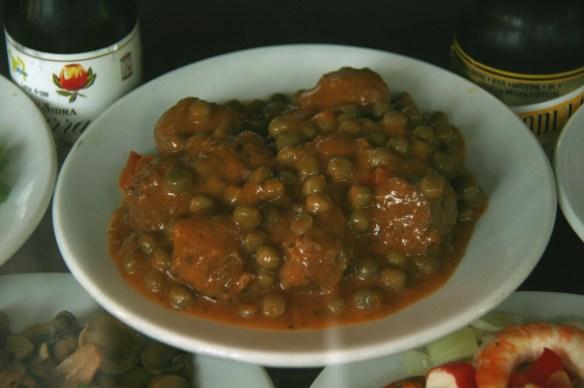 Spanish food - meatball tapas