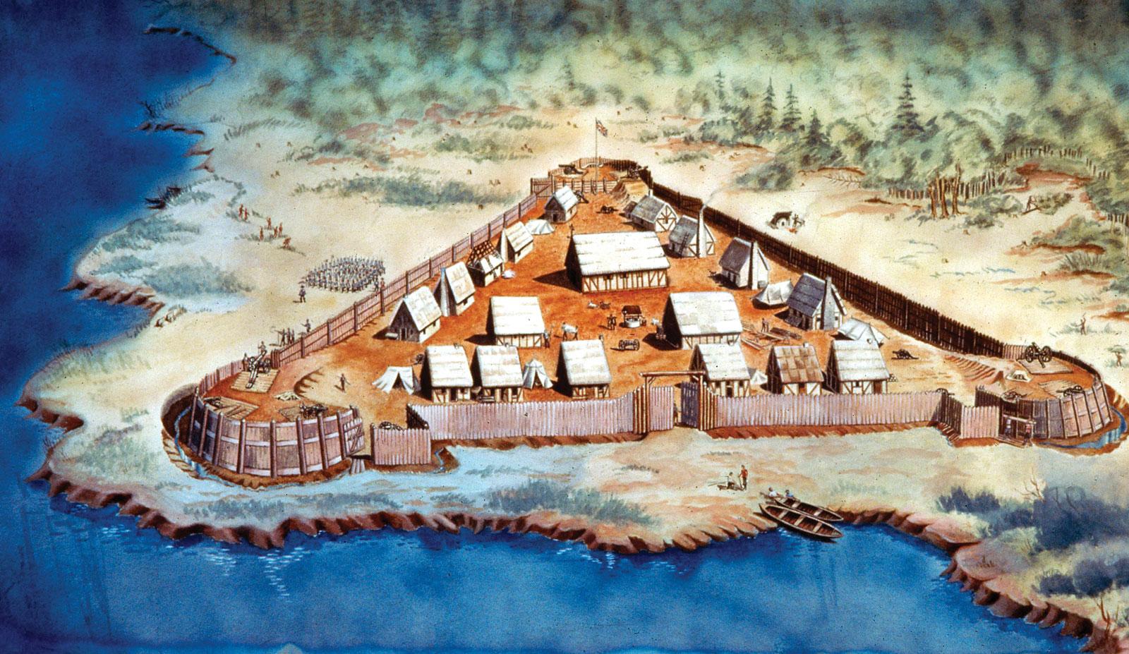 Jamestown Settlement 1607