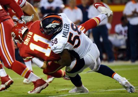 Broncos sack cheifs