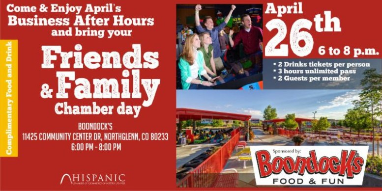 Friends & Family Day Hispanic Chamber