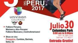 Peru Indepence poster 2017