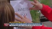 Racism in noth Denver, sign