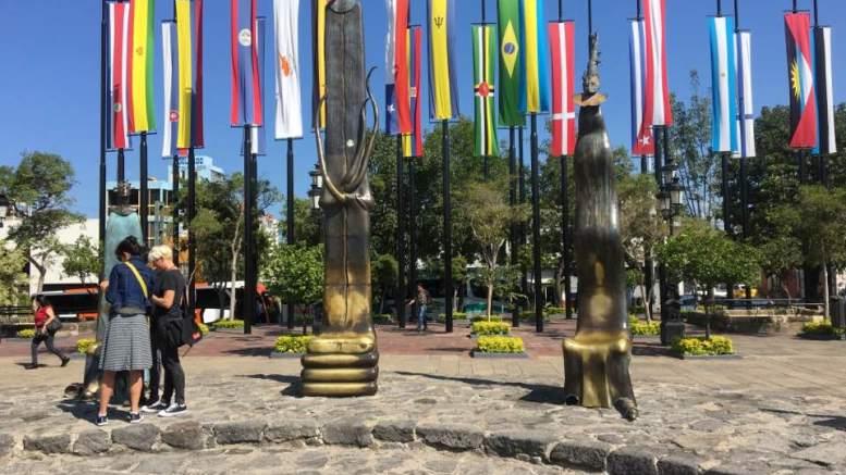 Debra Gallegos Day 2 Guadalajara sculptures