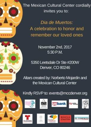Mexican Cultual Ctr. Dia de los Muertos