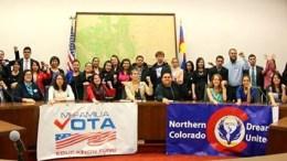 Latino advocacy day group shot