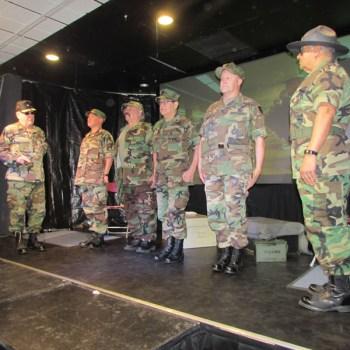 From left to right: #3 LtoR: Ricardo La Fore; Miguel Baca-Barragan; Michael Miera; Rich Marin; Tim Sandos; Ernie Torres