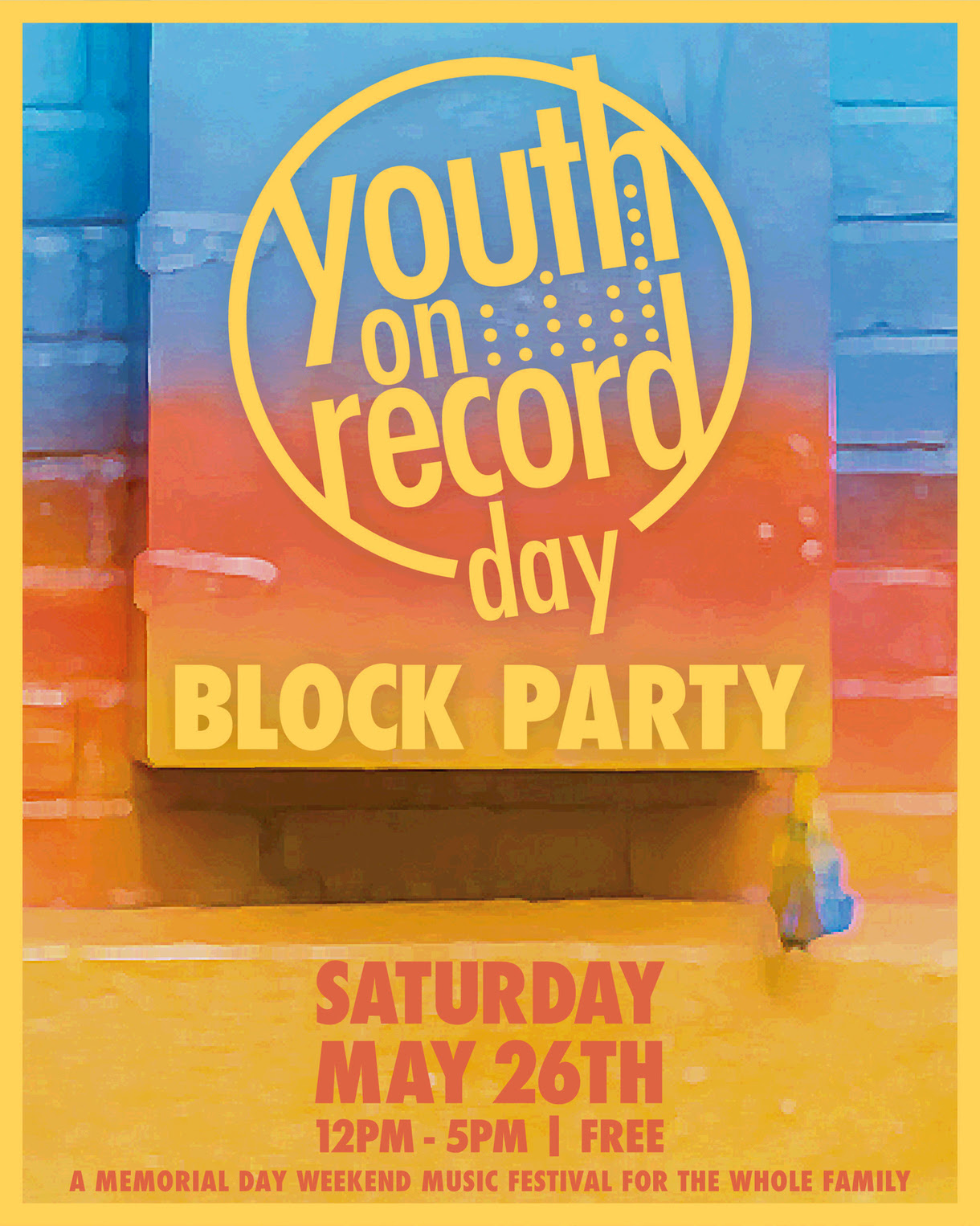 Youth on Record Block party 2018