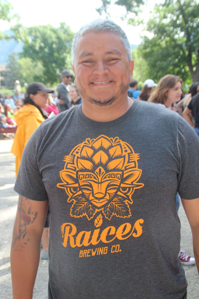 Colorado Latino Festival organizer Jose Beteta is also the President of the Latino Chamber of Commerce as well as the head of the Barrio-E Puerto Rican percussion bomba group. He also sings lead for Orquesta La Brava. And if that's not enough he will soon be opening the 6,000 sq. ft. Raices Brewery in Denver's Sun Valley neighborhood.