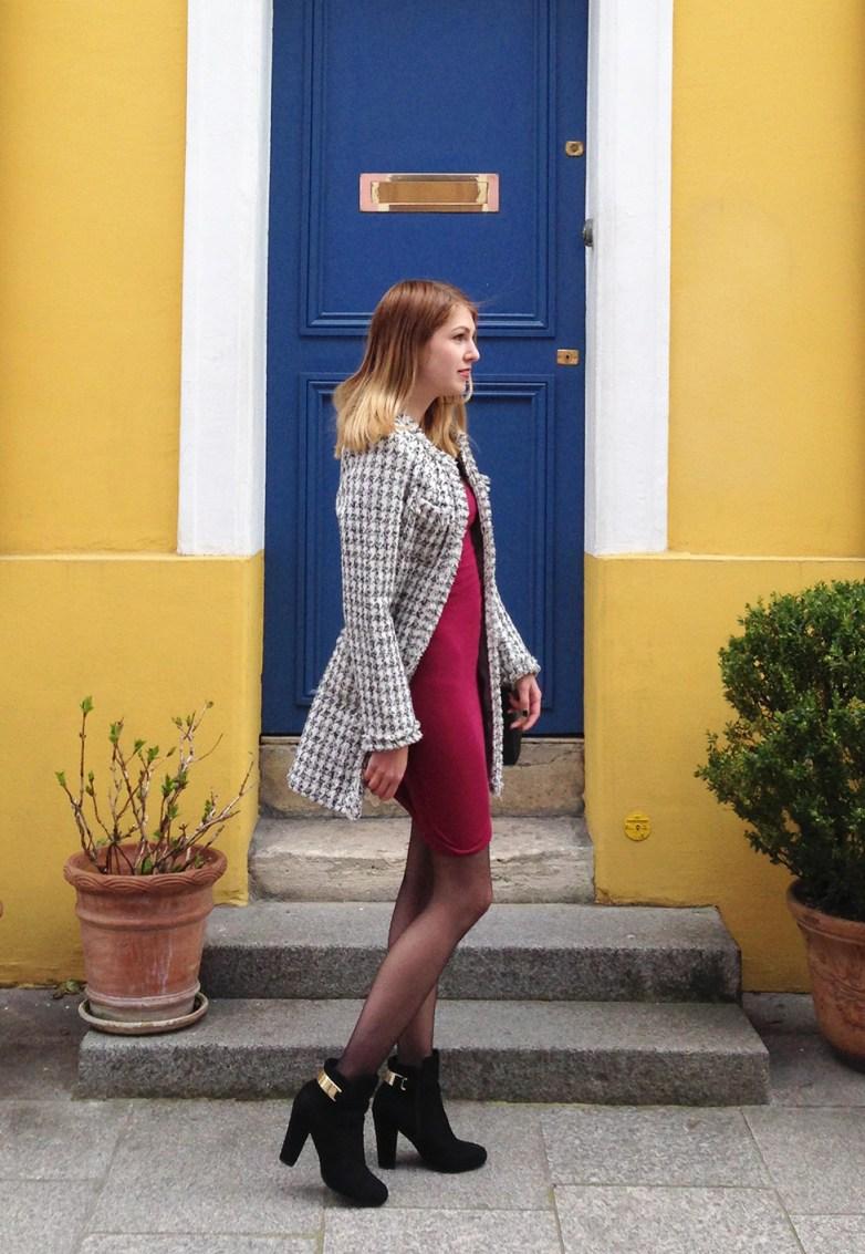 manteau pied de poule5 207x300 - La star du dressing