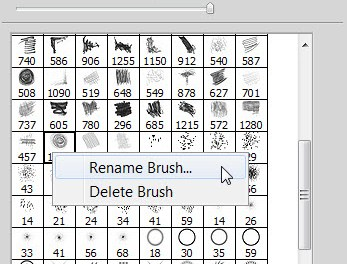 How To Rename Your Brushes In Photoshop