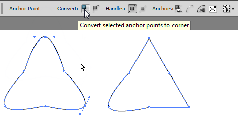 how to show anchor points in illustrator