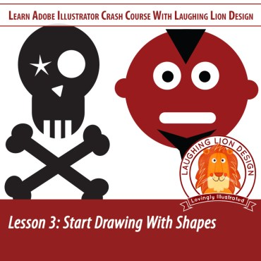 Learn Illustrator Lesson 3 – Drawing Shapes