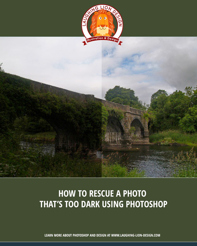 How To Rescue A Photo That's Too Dark Using Photoshop